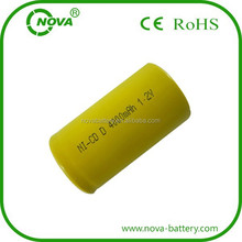 nicd d 4000mah rechargeable battery 1.2v battery cells power tools