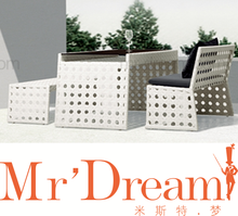 MR DREAM Outdoor furniture, Rattan long chair CF69X-S9311