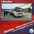 Chino antiguo de la marca dongfeng camión de auxilio con grúa toneladas 3.5,4*4 camión de auxilio
