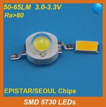 electronic components 5730 smd led data sheet,0.5W,150mA,45-65LM, 3 years guarantee time