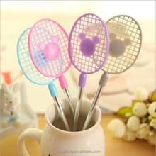 Fashion promotion ball pen gift for children/Badminton Racket Ballpoint Pen