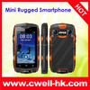 Small Size Rugged Smartphone 2.4 Inch Capacitive Touch Screen Dual SIM Card Smartphone discovery