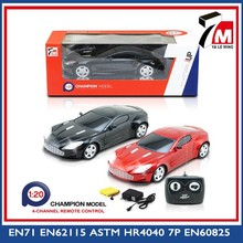 Hot roda plastic rc car 1:20 modelo de brinquedo deriva corrida simulator