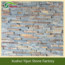 New Rustic Slate Exterior Decorative Stone Wall With Factory Price