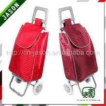 fashionable luggage trolley cute plastic shopping baskets