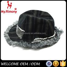 black adult party hat