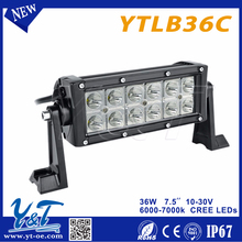 36w offroad led working light ytlb36c led light for offroad Light on Motorcycle,off road SUV