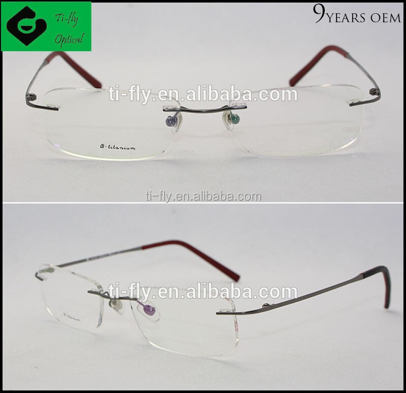Customizable China Wholesale Naturally Rimless Titanium ...