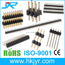 China factory 2.54mm straight pin header IDC connector DIP type for PCB LED application