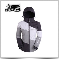 2015 new designed women's melange snowboard jacket