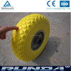 Qingdao Wholesale 10 Inch Pneumatic wheel barrow pu solid wheel