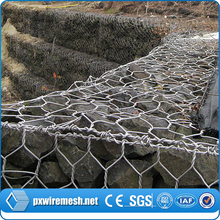 China Alibaba Supplier galvanized coated gabion cages,maccaferri cagion,flood wall price for sale
