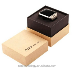 hot ! 2015 SIM smart watch DZ09 with Phonebook, phone calls, incoming calls, messages