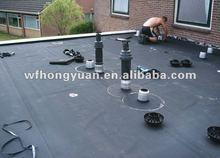 EPDM Roofing Rubber Waterproof Membrane/EPDM roofing sheet/EPDM anti-UV membrane
