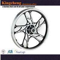 Popular made from factory OEM reflective 19.5 aluminum truck wheels