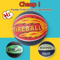 Best promotional children basketballs,oem cartoon rubber basketball