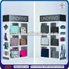 TSD-W186 Shopping mall white spray painting wooden bag retail display/shop cabinet/bag cabinet