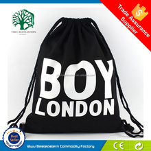 Hot sale popular polyester sports drawstring backpack for basketball