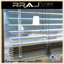 2.5cm wide slat brushed aluminum venetian blinds