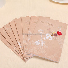 Top quality new style fashion Teacher's day greeting card wholesale