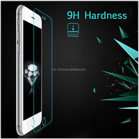 9H Explosion-Proof Clear Gold Tempered Glass Screen Protector For Iphone 6s plus