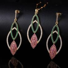 Moda cobre conjunto jóia colar, popular novo produto para 2015 XYS100129