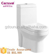 Ceramic One-piece Washdown toilet bowl 2818B