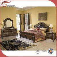 solid wood bedroom set WA142