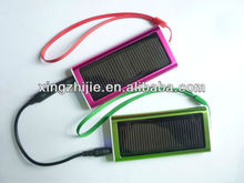 2012 latest portable solar mobile travel charger