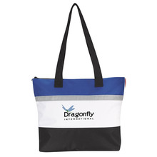 OEM Polyester Fashion Large Promotion Tote Shopping Bag