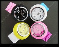 Free P&P women's Slap-style Jelly rubber Silicon Quartz Sports Wrist Watch