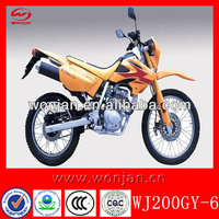 200cc kids gas dirt bikes for sale cheap (WJ200GY-6)
