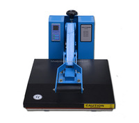 China Supplier QX-A2 Ordinary plate machine Cheap digital power press 80*100cm large format heat press machine