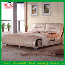 Promotion pink leather diomand water bed (XFL-8011)