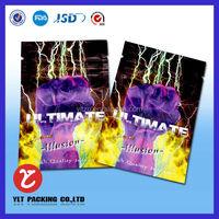 New product foil mini ziplock potpourri herbal incense bags