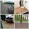 diy wpc wood plastic composite decking tile outdoor tile for balcony swimming pool bathroom floor