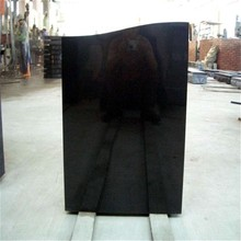 Hot sale black headstone Factory directly supply flat headstones Cheap Price different colors unique headstones