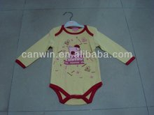 100% algodón ropa del bebé