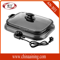 Teflon Non-Stick Material and Aluminum Material electric grill