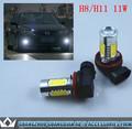 Accesorios de coches pc 4 1.5w papasfritas + 5w de alta potencia de la lámpara de la niebla h8/h11