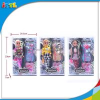 New product 2014 special baby doll big eyes 11.5 inch selina baby doll firm body eco-friendly material 3 asstd new baby doll