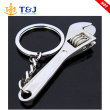 New Metal Adjustable Creative Tool Wrench Spanner Key Chain Ring