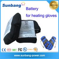 special design polymer 2P-103450 3.7v 3600mah heating gloves battery