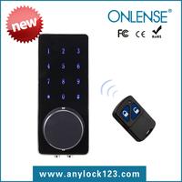 Fashion design access remote control electronic door lock rfid cylinder lock