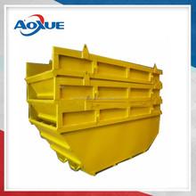 heavy load metal scrap skip bin/ hook bin / roll on roll off bin Manufacture