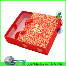 Popular paper packaging for wedding invitation card box