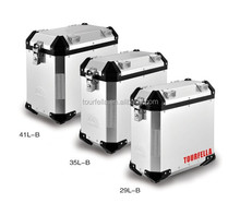 Motorcycle hard cases , waterproor motorbike aluminum case