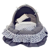 washable pet nest,cute princess dog bed,dop cushion for spring and summer