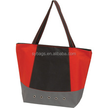 Promotion Polyester Tote Bag / Commuter Tote Bag / High quality promotional blank tote bags