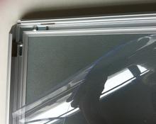 New Design Stroe loja quadro de cartaz pendurado placa do Menu 20 mm ampla plano de alumínio snap quadro